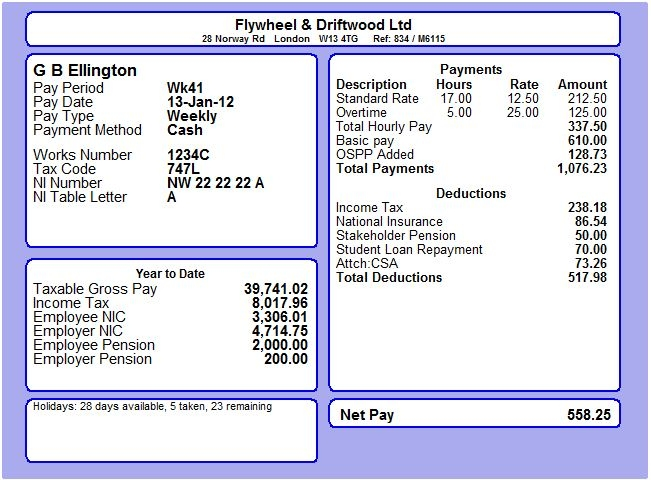 Payroll manager software employee payslips selection moneysoft a5 2 per page maxwellsz