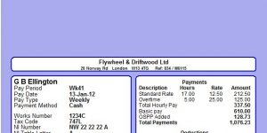 Moneysoft Machine Seal Mailer Payslip