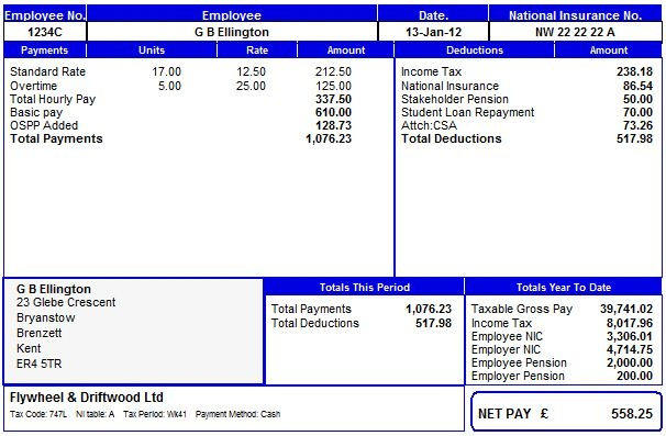 Free Uk Payslip Template Download. Payroll Manager Software Employee  Payslips Selection . Free Uk Payslip Template Download  Payslip Template Free Download
