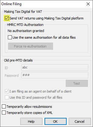 tick for MTD