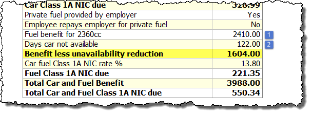fuel calculation 2020-21