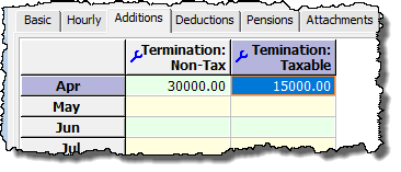add taxable amount