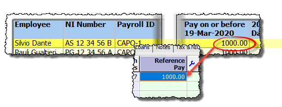 reference pay