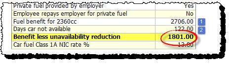 fuel benefit